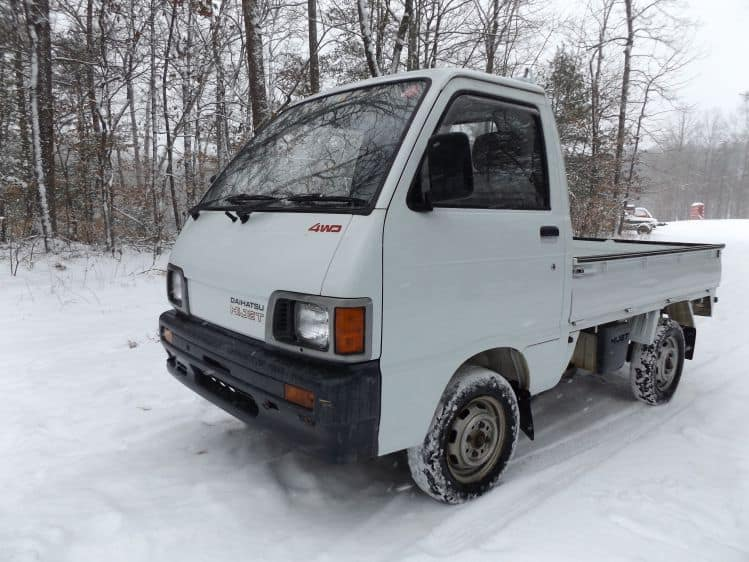 Sold Thanks Max Amy 1991 Daihatsu 4 4 Street Legal A C